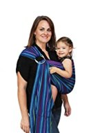 Maya Wrap Lightly Padded Ring Sling Baby Carrier - Berries