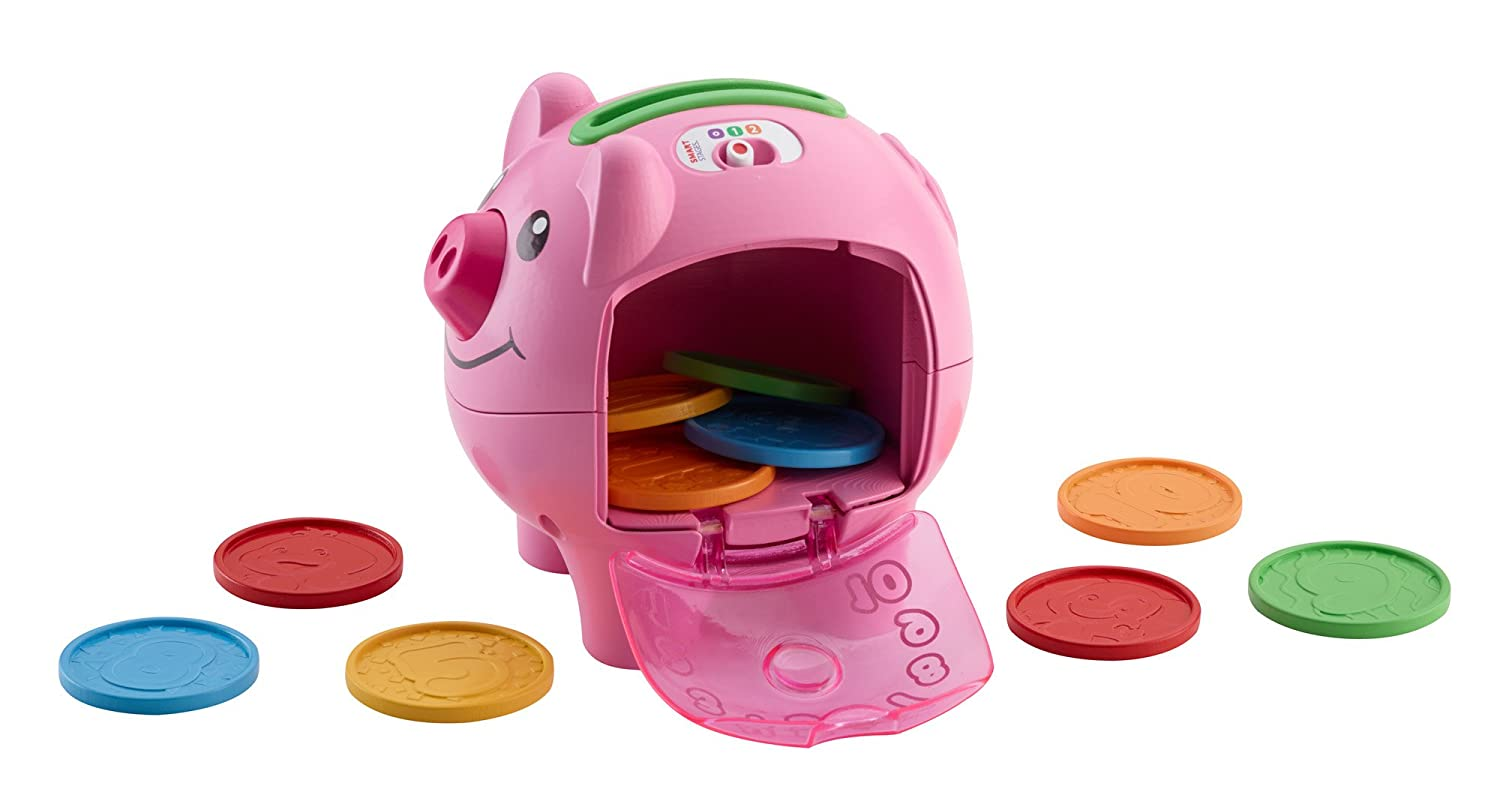 Fisher price laugh learn smart stages piggy bank