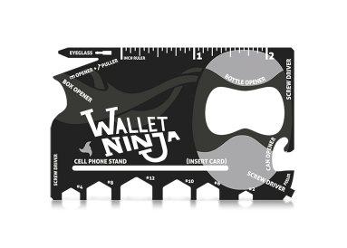 Wallet Ninja Multitool gadget review sites