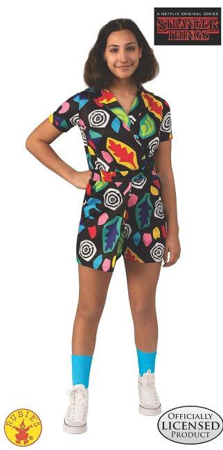 Stranger Things Season 3 Girl's Eleven Mall Dress Costume