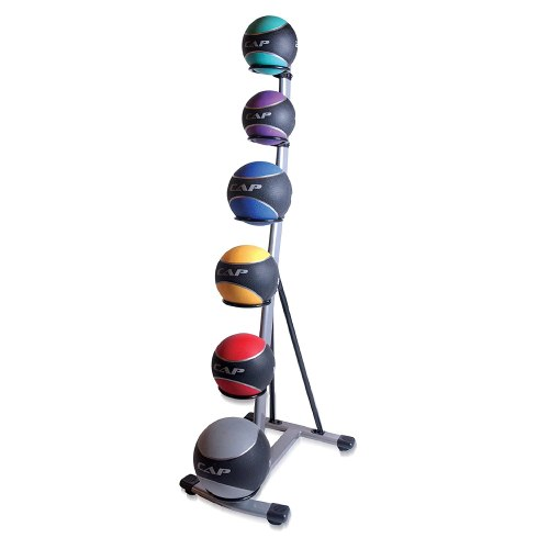 CAP Barbell 6 Tier Medicine Ball Set