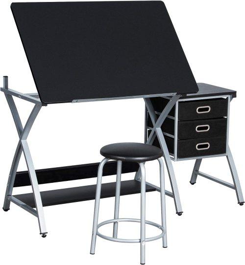 YAHEETECH Adjustable Craft Table