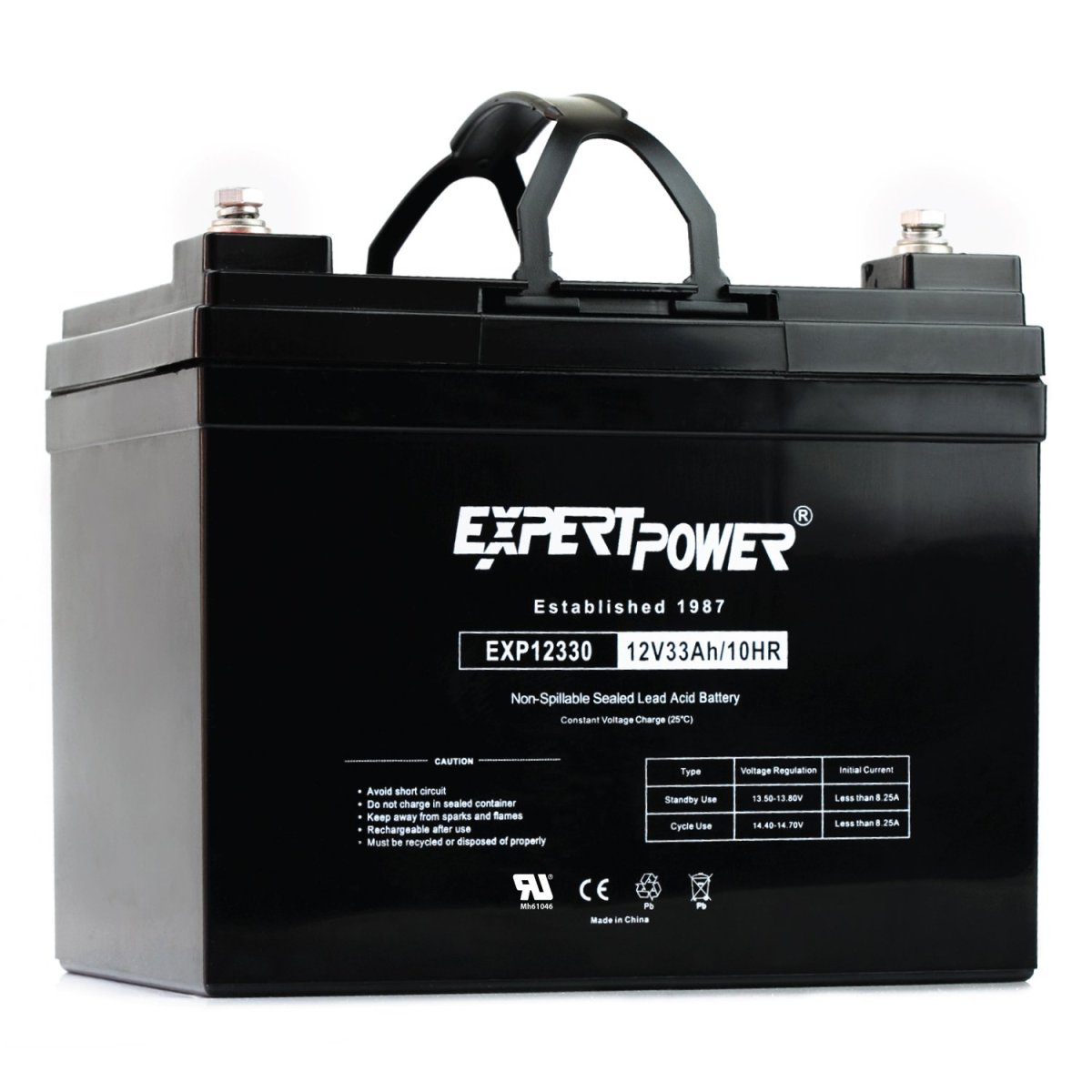 Best Car Batteries ExpertPower 12v 33ah Rechargeable Deep Cycle Battery [EXP12330]