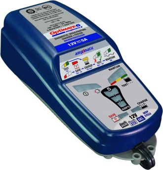 TECMATE OptiMATE 6 Ampmatic, TM-181, 9-step 12V 5A sealed battery saving charger & maintainer