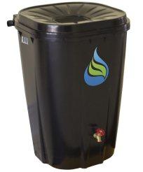 Enviro World Corporation EWC-14 FreeGarden Black Rain Collection Barrel