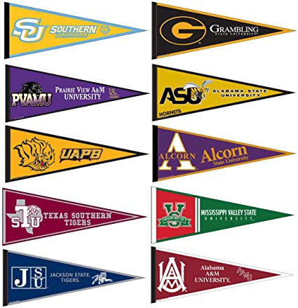 Southwestern Athletic Conference College Pennant Set
