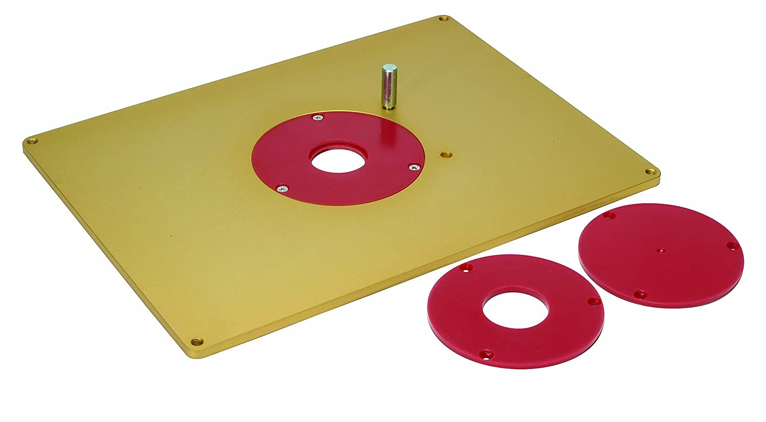 MLCS 9334 1/4-Inch Thick Aluminum Router Plate