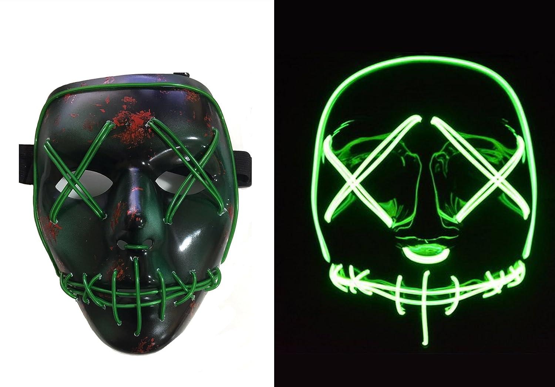 The Purge LED Maske Partys Rave Dance