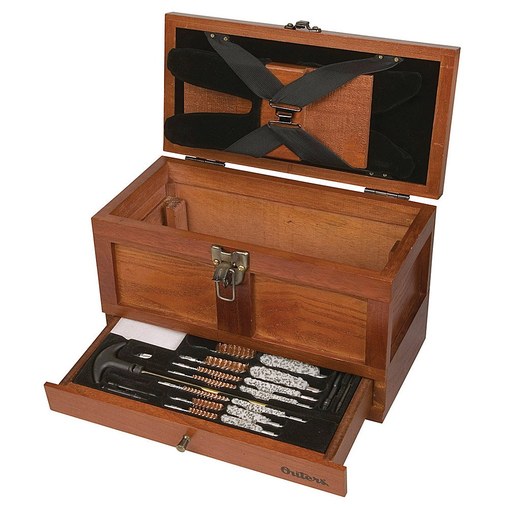 Outers 70084 25 - Piece Universal Wood Gun Cleaning Tool Chest