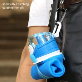 Collapsible Water Bottle - Waterfall Hiking
