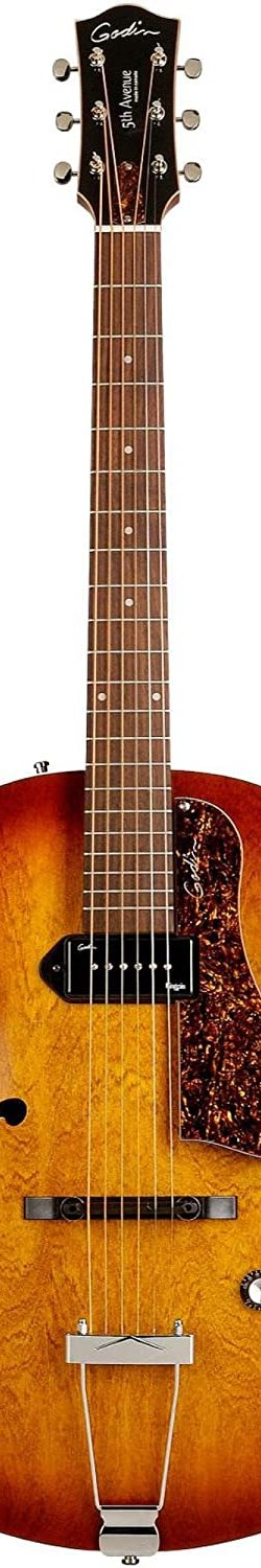 Godin 5th Avenue Kingpin P90 Jazz-Style Acoustic-Electric Guitar