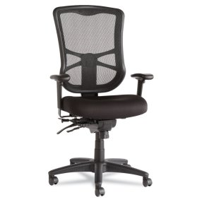 Alera Elusion Series Mesh High-Back Multifunction Chair