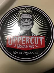 Uppercut Deluxe Monster Hold Pomade 2.5oz - Heavy & Strong Hold - Waxy, High Shine - Sweat Resistant Customer Image 2