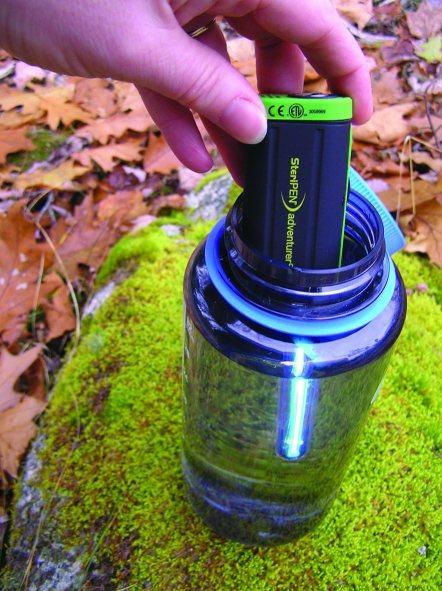 SteriPen Adventurer Opti UV Personal Water Purifier