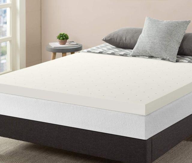 Amazon Com Best Price Mattress 3 Inch Memory Foam Topper Rv Bed Mattress King Home Kitchen
