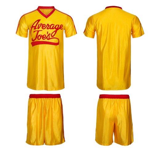 Dodgeball Joe's Yellow Jersey & Shorts