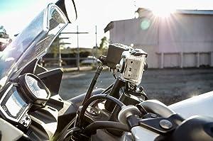 motorcycle mounted GoPro
