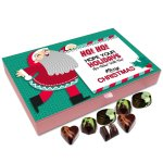 Chocholik Christmas Chocolate Box – Hope Your Holidays are Filled with Fun, Merry Christmas Chocolate Box – 12pc