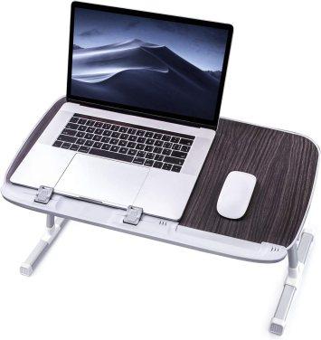 TaoTronics Foldable Laptop Bed Desk