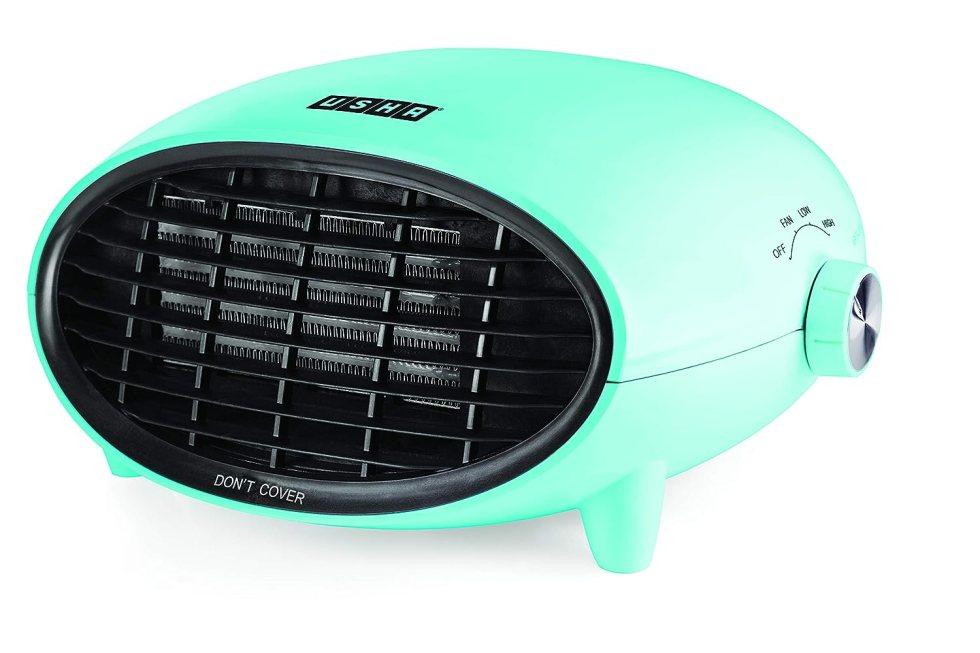 Usha 3632 PTC L 2000-Watt Fan Heater (Light Blue)