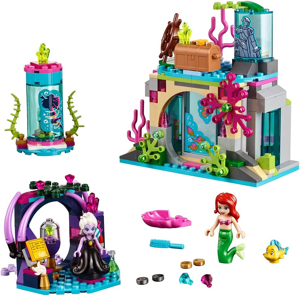Amazon Com Lego Disney Princess Ariel And The Magical Spell 41145 Building Kit 222 Piece Toys Games