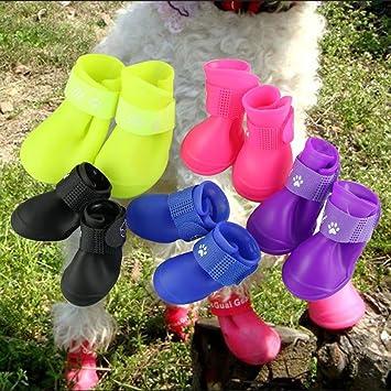 Small Dog Rain Boots