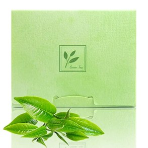 2 Pack of Pretie Green Tea Facial Blotting Papers, Oil Absorbing sheets(160 counts in total). Pop-Up Inter-folded sheets.