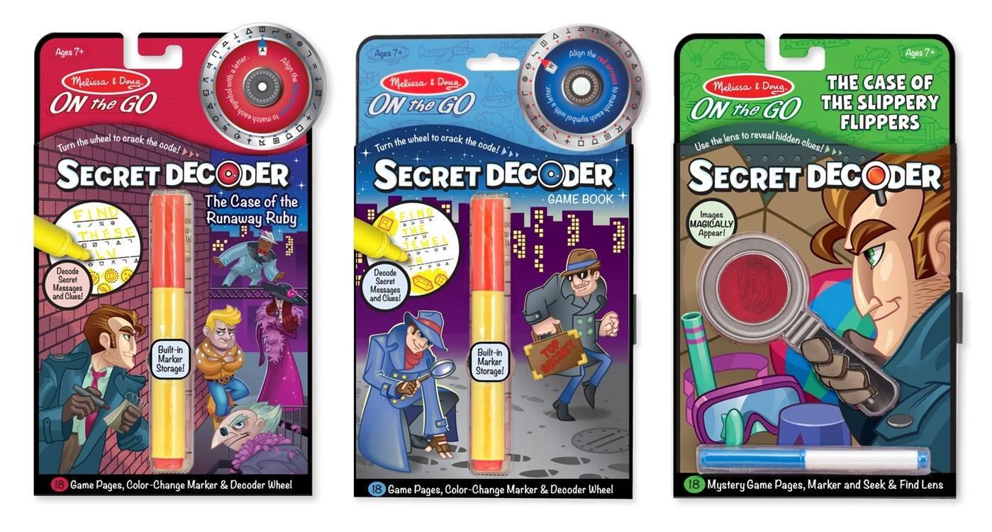 Melissa & Doug On the Go Secret Decoder Activity Books
