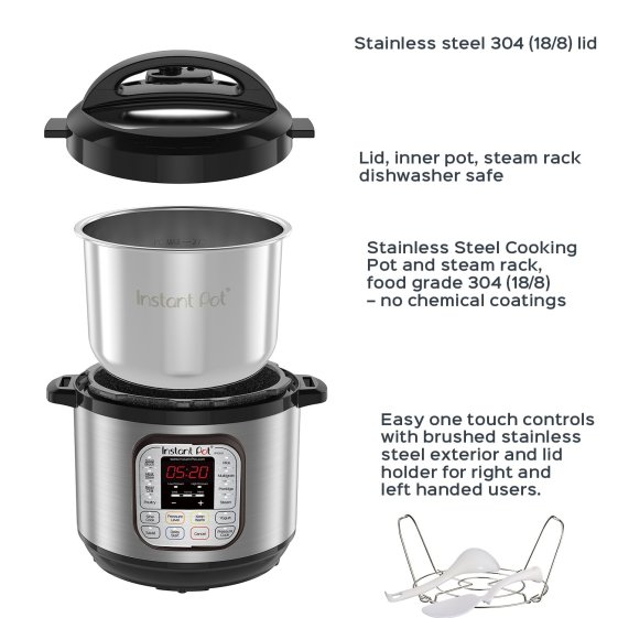 instant pot duo80 pressure cooker review