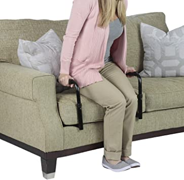 Senior-Woman-Sitting-In-Recliner