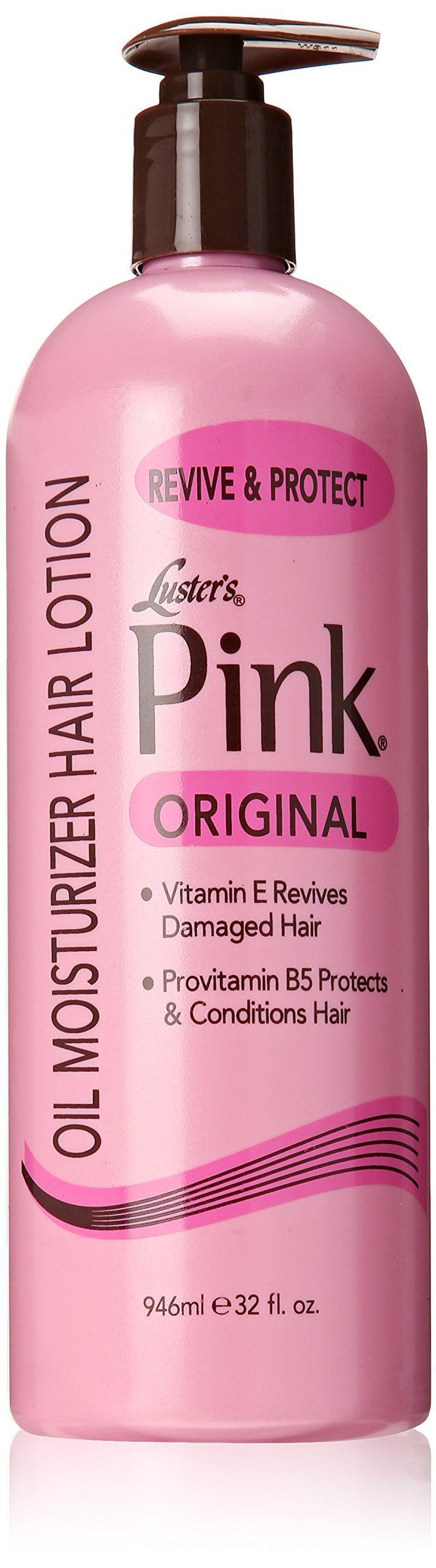 Lusters Pink Oil Moisturizer Hair Lotion  Ounce Packaging May Vary