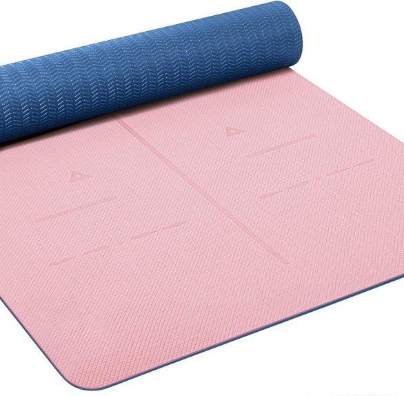 Heathyoga Eco-Friendly Yoga Exercise Mat