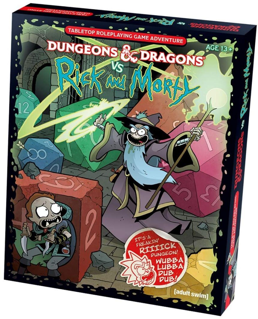Image result for rick & morty vs dungeons & dragons