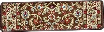 Dean Premium Carpet Stair Treads Classic Keshan Chocolate Brown | Dean Premium Carpet Stair Treads | Keshan Chocolate | Classic Keshan | Gripper Tape | Friendly Diy | Nylon Carpet