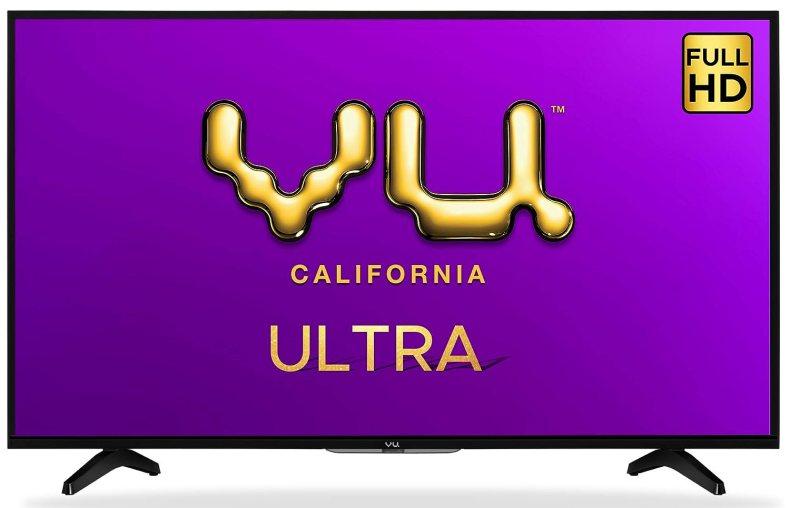 Vu 108 cm (43 inches) Full HD UltraAndroid LED TV 43GA (Black)