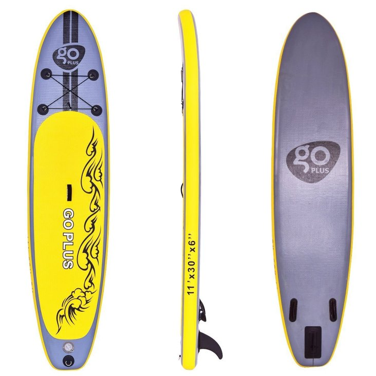 Goplus Inflatable 11' SUP Stand Up Paddle Board