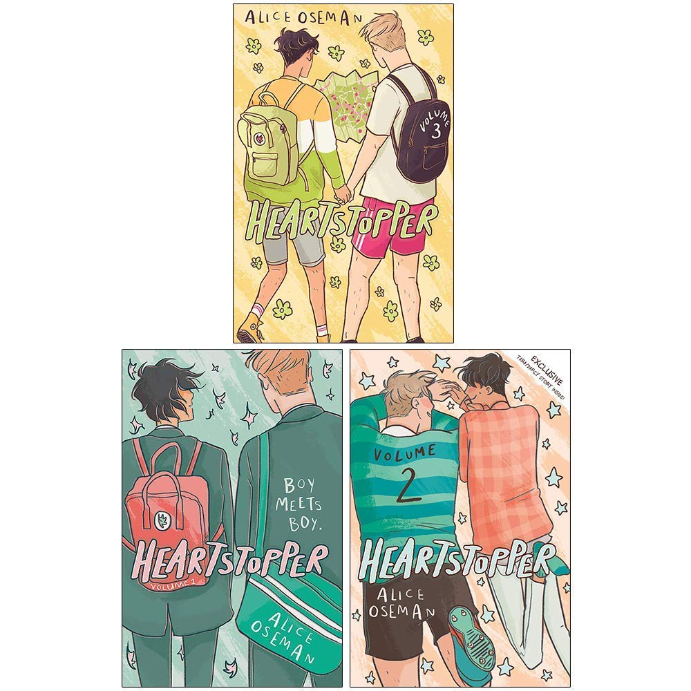 Heartstopper Series Volume 1-3 Books Collection Set By Alice Oseman: Amazon.co.uk: Alice Oseman, Heartstopper Volume Three By Alice Oseman, 978-1444952773, 1444952773, 9781444952773, Heartstopper Volume One By Alice Oseman, 978-1444951387, 1444951386 ...