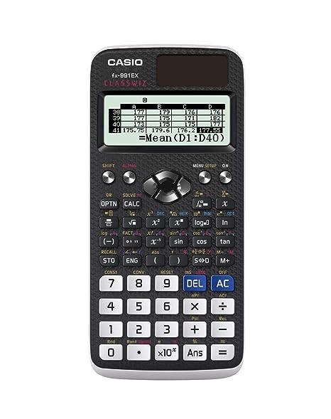 Casio Fx 991ex Engineeringscientific Calculator Black