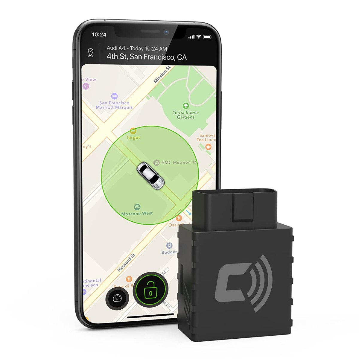 Best Car Trackers Reviews CarLock - 2nd Gen Advanced Real-Time 3G Car Tracker & Alert System