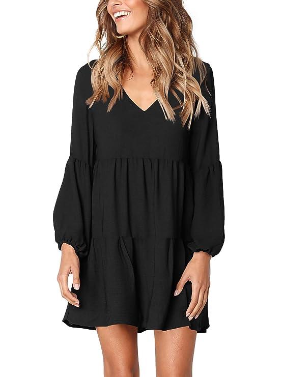 traje negro para mujer con cuello en Vhttps://amzn.to/2LbWvDV