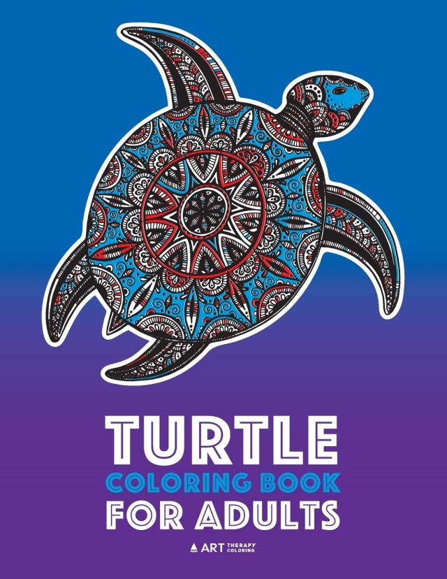 Amazon.com: Turtle Coloring Book For Adults: Stress Relieving