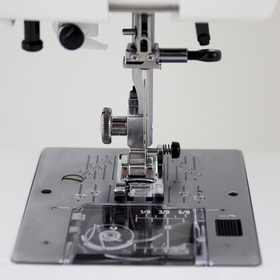 Janome HD3000 Heavy-Duty Sewing Machine with 18 Built