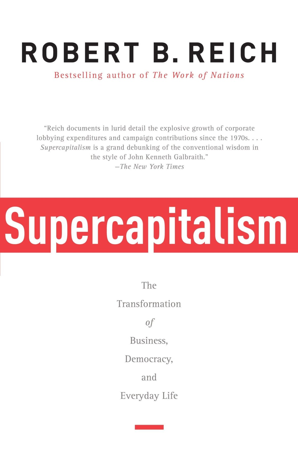 Amazon.fr - Supercapitalism: The Transformation of Business ...