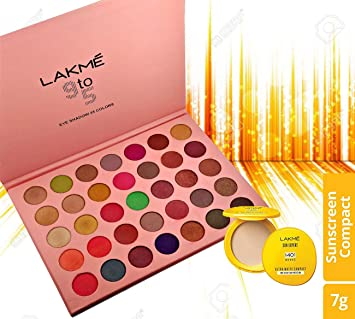 Lakme 9 To 5 Makeup Kit Colorfull Dazzling Shine 48 Colors Of