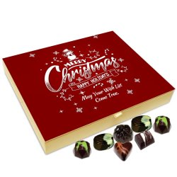 Chocholik Christmas Gift Box – May All Your Wishes Come True On Festive Season of Christmas Chocolate Box – 20pc