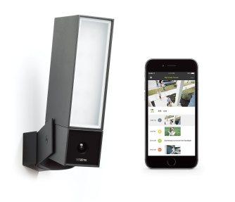 Presence de Netatmo, le système d'éclairage extérieur avec caméra de surveillance