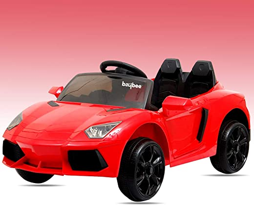 Baybee Bwm 5 Series Battery Operated Car With R/C (Red)