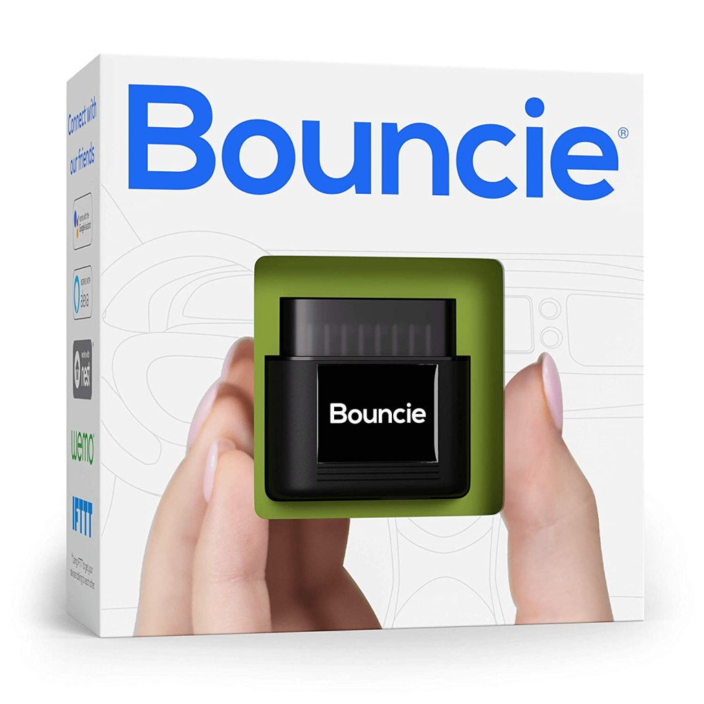 Best Car Trackers Reviews  bouncie - Connected Car - 15 Second Updates - Location Tracking, Driving Habits, Alerts, Geo-Fence, Diagnostics - OBD2 Adapter - Family or Fleets - Alexa