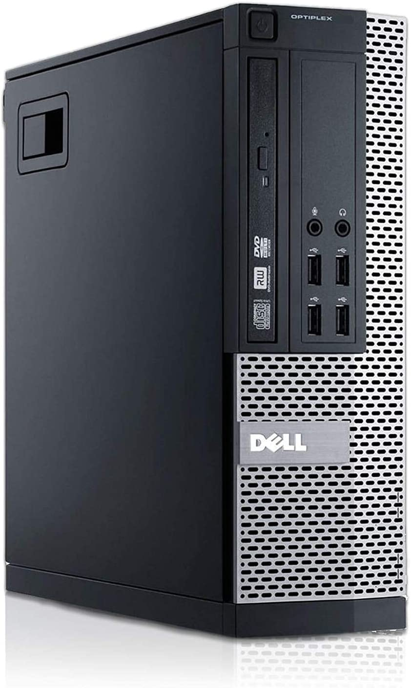Ordinateur de Bureau Dell 7010 SFF - Core i5-3470 @ 3,2 GHz - 8Go RAM - 240Go SSD - DVD - Windows 10 Pro (Reconditionné)
