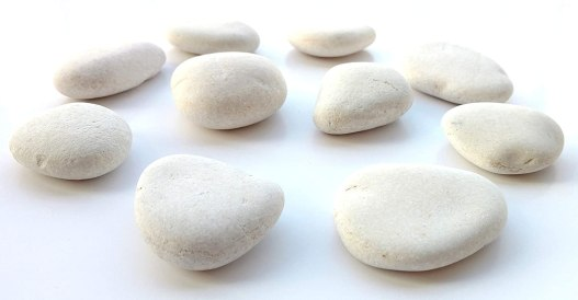 white rocks for rock painting